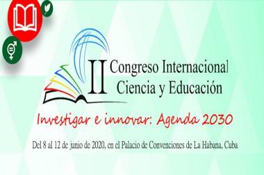 Cartel elegórico al II Congreso Internacional Ciencia y Educación