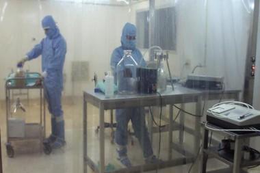 La Biomodulina T es fabricada, a partir de 2008, por el Centro Nacional de Biopreparados, perteneciente al Grupo Empresarial BioCubaFarma.Se trata de un inmunomodulador biológico de origen natural, no hemoderivado. Foto: Cortesía de BioCen