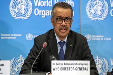Dr. Tedros Adhanom Ghebreyesus, director general de la Organización Mundial de la Salud (OMS)