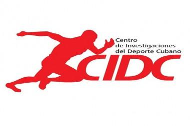Cartel alegórico al Centro de Investigación del Deporte Cubano