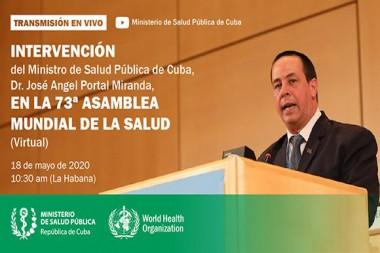 José Ángel Portal, ministro de Salud Pública de Cuba