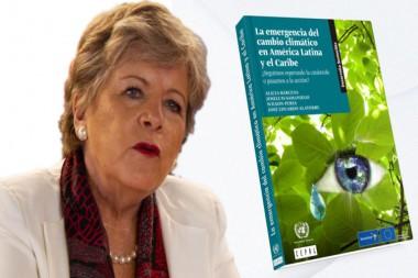 Alicia Bárcena, secretaria ejecutiva de la Cepal, expresó que la respuesta a la pandemia de la COVID-19 es una oportunidad para avanzar hacia un gran impulso para la sostenibilidad. Foto: PL