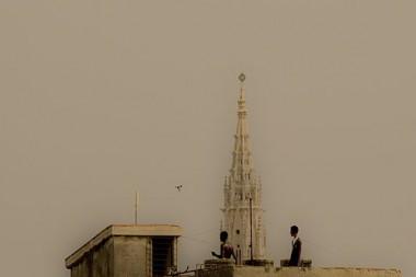 Polvo del Sahara en La Habana