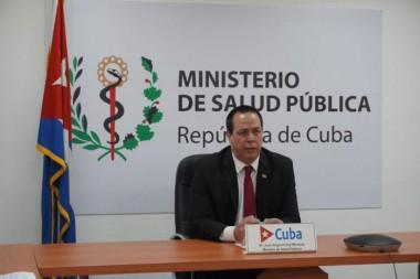 Participación del Ministro de Salud Pública, Dr. José Angel Portal Miranda en la 73a Asamblea Mundial de la Salud. Foto: Minsap