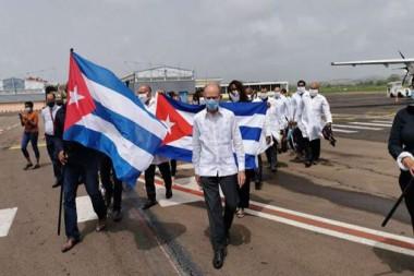 Brigada cubana en Martinica apoyará combate a la Covid
