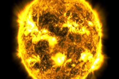 Imagen del Sol captada por el Observatorio de Dinámica Solar de la NASA. Captura de pantalla.