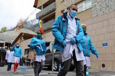 Médicos cubanos en Andorra