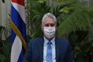 Miguel Díaz-Canel Bermúdez, presidente de la República de Cuba