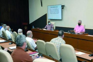 Reunión del grupo temporal de trabajo para la prevención y el control de la COVID-19