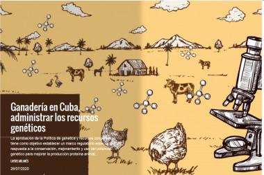 Ganadería en Cuba, administrar los recursos genéticos