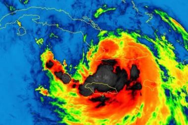 Tormenta tropical Laura, 24 de agosto 2020