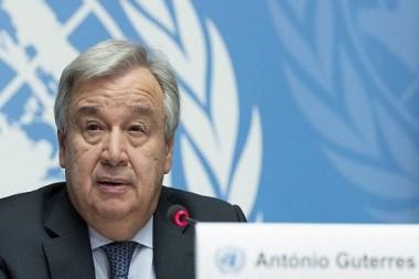Secretario General de la ONU, Antonio Guterres. Foto: Archivo Cubadebate.