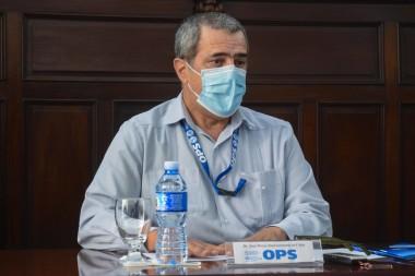 José Moya, representante de la Organización Mundial de la Salud (OMS) en Cuba