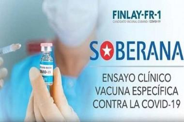 Soberana 01,  candidato vacunal contra la Covid-19 hecho en Cuba
