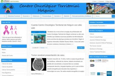 Sitio web destinado a la interacción entre pacientes con cáncer, familiares, especialistas y estudiantes de esa rama de las ciencias médicas