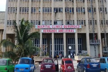 Hospital Clínico Quirúrgico Hermanos Amejeiras, de La Habana