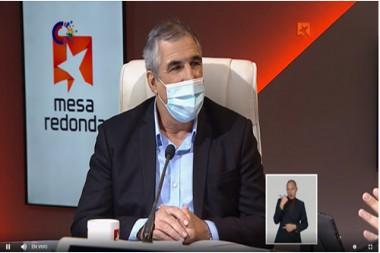 Eduardo Martínez Díaz, presidente del Grupo de las Industrias Biotecnológica y Farmacéutica de Cuba (BioCubaFarma).