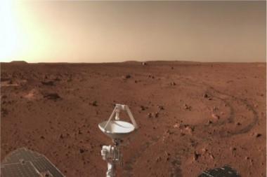 La misión Tianwen-1 de China en Marte. Foto: Administración Espacial Nacional China (CNSA).