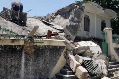 Terremoto de Haití. Foto: tomada de Semana