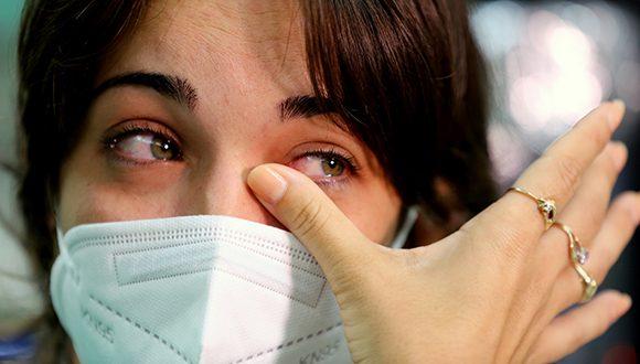 Celeste es una de las jóvenes que enfrenta el coronavirus en la primera línea. Foto: Naturaleza Secreta