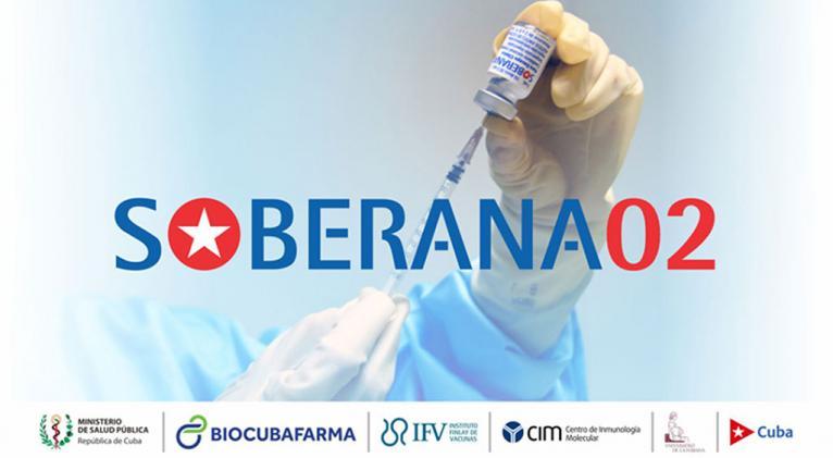Vacuna antiCovid-19 Soberana 02 de Cuba