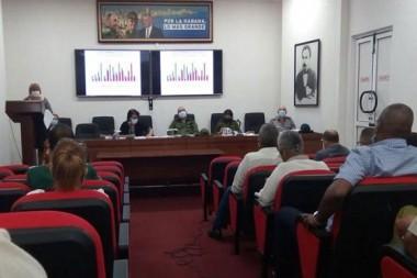 Consejo de Defensa Provincial de La Habana. Foto: Tribuna de La Habana.