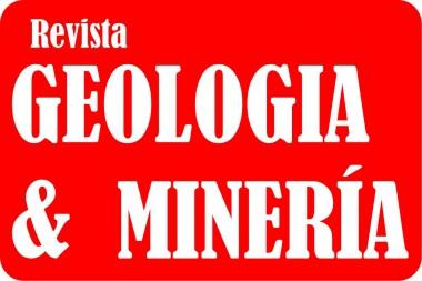 Cartel alegórico a la Revista Geología y Minería
