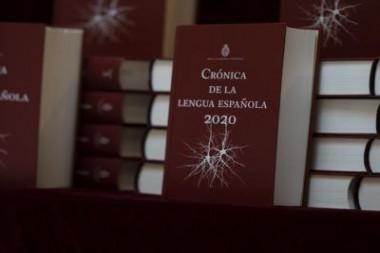 Libro Crónica de la lengua española 2020