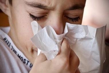 Persona con gripe