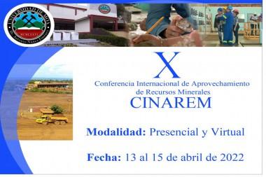 Cartel alegórico a la Conferencia Internacional CINAREM 2022
